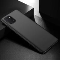 Engo Samsung Galaxy Note 10 Lite Kılıf Kamera Korumalı Soft Silikon Siyah
