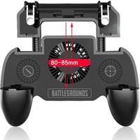 Case 4U W12 SR Mekanik Mobil Oyun Konsolu - 2000 mAh Taşınabilir Şarj Cihazı Powerbank - Soğutucu Fan - PUBG - Tüm Oyun ve Telefonlar ile Uyumlu - Universal Oyun Adaptörü