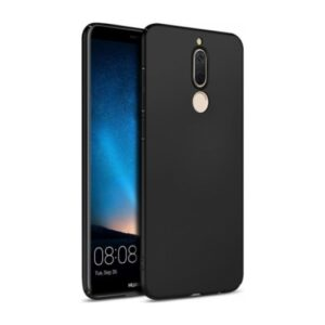 Elite Huawei Mate 10 Lite Kılıf Rubber Arka Kapak Siyah