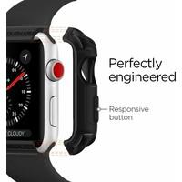 Spigen Apple Watch Seri 5/4 ile Uyumlu (44mm) Kılıf Tough Armor Black - 062CS24477