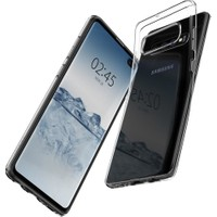 Spigen Samsung Galaxy S10 Plus Kılıf Liquid Crystal Clear 4 Tarafı Tam Koruma - 606CS25761