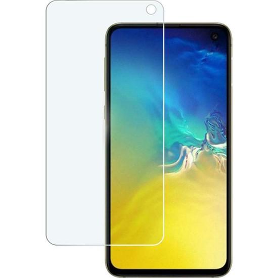Case 4U Samsung Galaxy S10e Cam Ekran Koruyucu - Nano Cam Ekran Koruyucu Şeffaf