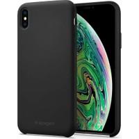 Spigen Apple iPhone XS Max Kılıf Silikon Fit Black - 065CS25653