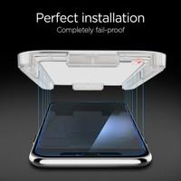 Spigen Apple iPhone 11 Pro / iPhone XS / iPhone X Cam Ekran Koruyucu Kolay Kurulum GLAS.tR EZ Fit Slim HD - 063GL24823