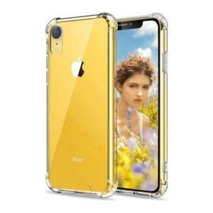 Zengin Çarşım Apple iPhone XR Ultra İnce Şeffaf Airbag Anti Şok Silikon Kılıf - Ve Ekran Koruyucu