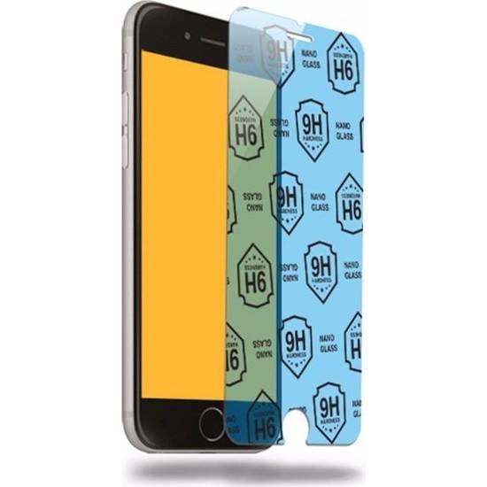 Etech Apple iPhone 6 Plus/7 Plus/8 Plus Blue Nano Glass Ekran Koruyucu