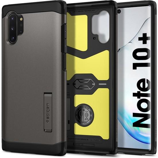 Spigen Samsung Galaxy Note 10 Plus Kılıf Tough Armor Gunmetal - 627CS27336