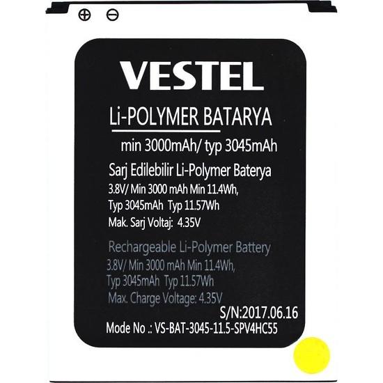Yedekyedek Vestel Venüs V3 5580 Batarya Pil A++ Lityum Polimer Pil