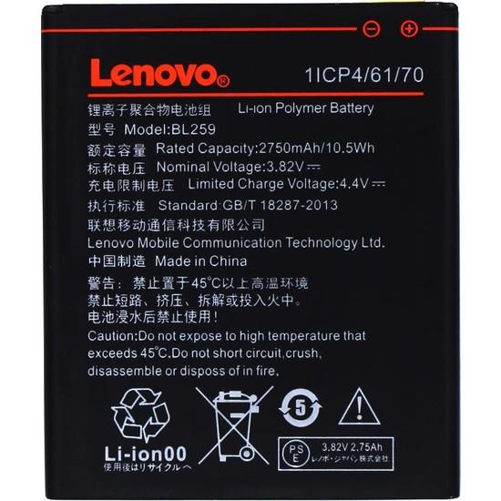 Yedekyedek Lenovo K5 A6020A41 Batarya Pil A++ Lityum İyon Pil