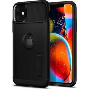 Spigen Apple iPhone 11 Kılıf Slim Armor Black - 076CS27076