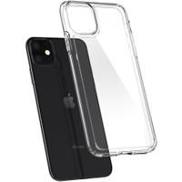 Spigen Apple iPhone 11 Kılıf Crystal Hybrid Crystal Clear - 076CS27086