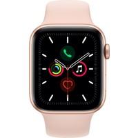Apple Watch Seri 5 44mm GPS Gold Alüminyum Kasa ve Pink Sand Spor Kordon MWVE2TU/A