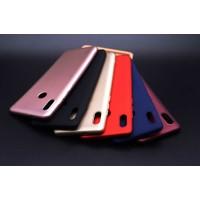 Tekno Grup LG K11 Kılıf Mat Premium Silikon Kılıf - Siyah + Cam Ekran Koruyucu