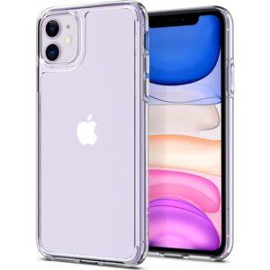Spigen Apple iPhone 11 Kılıf Quartz Hybrid Crystal Clear - 076CS27187