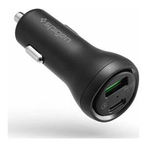 Spigen SteadiBoost 45W Hızlı Araç Şarjı (USB-C PD 3.0 27W + Quick Charge 3.0 18W) F31QC - 000CP25597