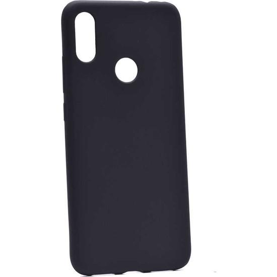 Fiber Aksesuar Xiaomi Redmi Note 7 Kılıf Mat Esnek Premier Silikon Siyah