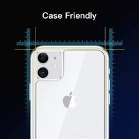 Microsonic Apple iPhone 11 Arka Temperli Cam Ekran Koruyucu - Şeffaf