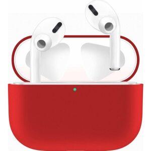 Case 4U Apple Airpods Pro Tam Kaplayan Silikon Kılıf - Kırmızı