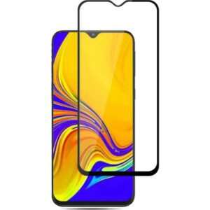 Coverzone Samsung Galaxy A71 Tam Kapatan 5D Kırılmaya Dayanıklı Cam Ekran Koruyucu Siyah