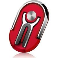Lily Yüzük Stand Araç Telefon Tutucu Kırmızı
