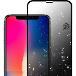 Case 4U Apple iPhone 11 Cam Ekran Koruyucu Tam Kaplayan Hayalet Privacy Siyah