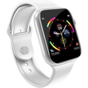 Thorqtech-W4 Tam Dokunmatik Ekran Akıllı Saat Beyaz