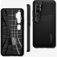 Spigen Xiaomi Mi Note 10 Pro / Mi Note 10 Kılıf Rugged Armor Matte Black - ACS00603