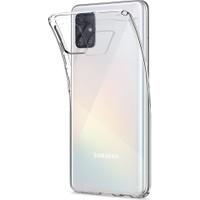Spigen Samsung Galaxy A51 Kılıf Liquid Crystal 4 Tarafı Tam Koruma Crystal Clear - ACS00564