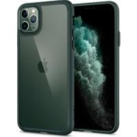 Spigen Apple iPhone 11 Pro Max Kılıf Ultra Hybrid Midnight Green - ACS00411