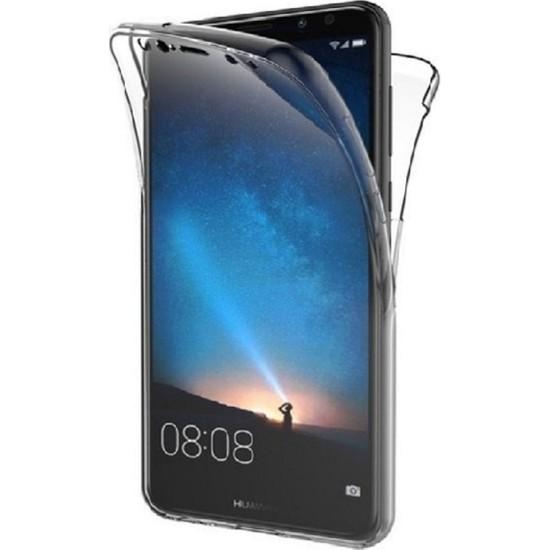 Huawei Mate 20 Lite Ön Arka Şeffaf 360 Derece Tam Korumalı Kılıf