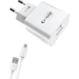 Behalle Qualcomm Quick Charge 3.0 A Multi Korumalı Hızlı Şarj Aleti