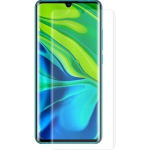 Ally Xiaomi Mi Note 10- Pro Full Liquid + Uv Işık 3D Cam Ekran Koruyucu AL-31710 Şeffaf