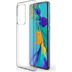 Case 4U Samsung Galaxy Note 10 Lite Kılıf Süper Silikon Arka Kapak + Cam Ekran Koruyucu Şeffaf