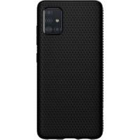 Spigen Samsung Galaxy A51 Kılıf Liquid Air Matte Black - ACS00601