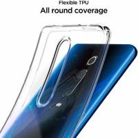 Spigen Xiaomi Mi 9T / Mi 9T Pro Kılıf Liquid Crystal 4 Tarafı Tam Koruma Crystal Clear - S53CS26404