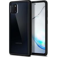 Spigen Samsung Galaxy Note 10 Lite Kılıf Ultra Hybrid Matte Black - ACS00685