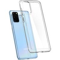 Spigen Samsung Galaxy S20 Plus Kılıf Ultra Hybrid Crystal Clear - ACS00755