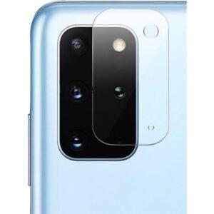 Happyshop Samsung Galaxy S20 Plus Kamera Koruma Cam Ekran Koruyucu Şeffaf