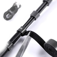 Baseus ACMGT-F01 Kesilebilir Kablo Kablo Sarıcı ve Düzenleyici Organizatör 3 mt Siyah
