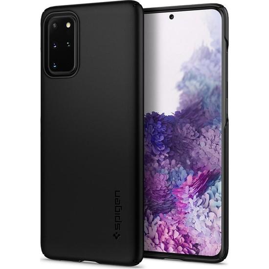 Spigen Samsung Galaxy S20 Plus Kılıf Thin Fit Black - ACS00749