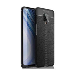 Case 4U Xiaomi Redmi Note 9S / Note 9 Pro Kılıf Darbeye Dayanıklı Niss Arka Kapak + Cam Ekran Koruyucu Siyah