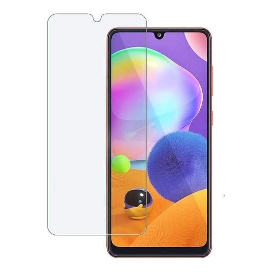 Case 4U Samsung Galaxy A31 Cam Ekran Koruyucu Temperli Şeffaf