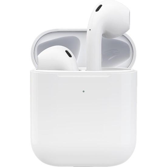 Native Audio i27 TWS 2.Nesil Bluetooth 5.0 Kablosuz Kulaklık (Kablosuz Şarj, Gerçek Şarj Göstergesi, Kulak Sensörü)
