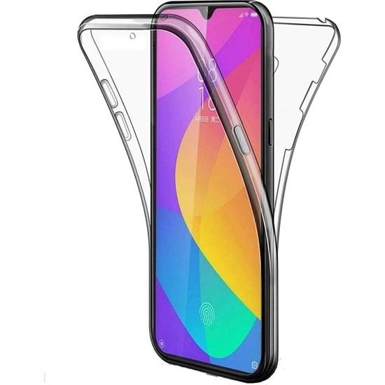 Gpack Samsung Galaxy M31 Kılıf Ön Arka Şeffaf Silikon Koruma Şeffaf