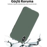 Mobilteam Xiaomi Redmi Note 8 Pro Kılıf İçi Kadife Lansman Kapak Lila