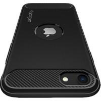 Spigen Apple iPhone SE (2020) Kılıf Rugged Armor Black - ACS00944