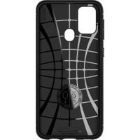 Spigen Samsung Galaxy M31 Kılıf Rugged Armor Black - ACS00909