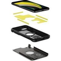 Spigen Apple iPhone SE (2020) Kılıf Tough Armor Gunmetal - ACS00949