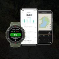 Amazfit T-Rex Akıllı Saat - Amoled Ekran - 5 ATM Suya Dayanıklı - Army Green - Distribütör Garantili