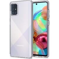 Spigen Samsung Galaxy A71 Kılıf Liquid Crystal 4 Tarafı Tam Koruma Crystal Clear - ACS00566